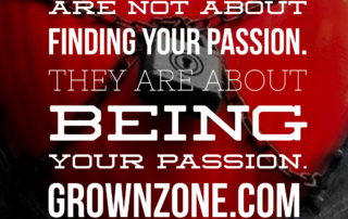 Being Your Passion